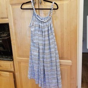 Molly Bracken Woven Dress Light Blue SZ S NWT